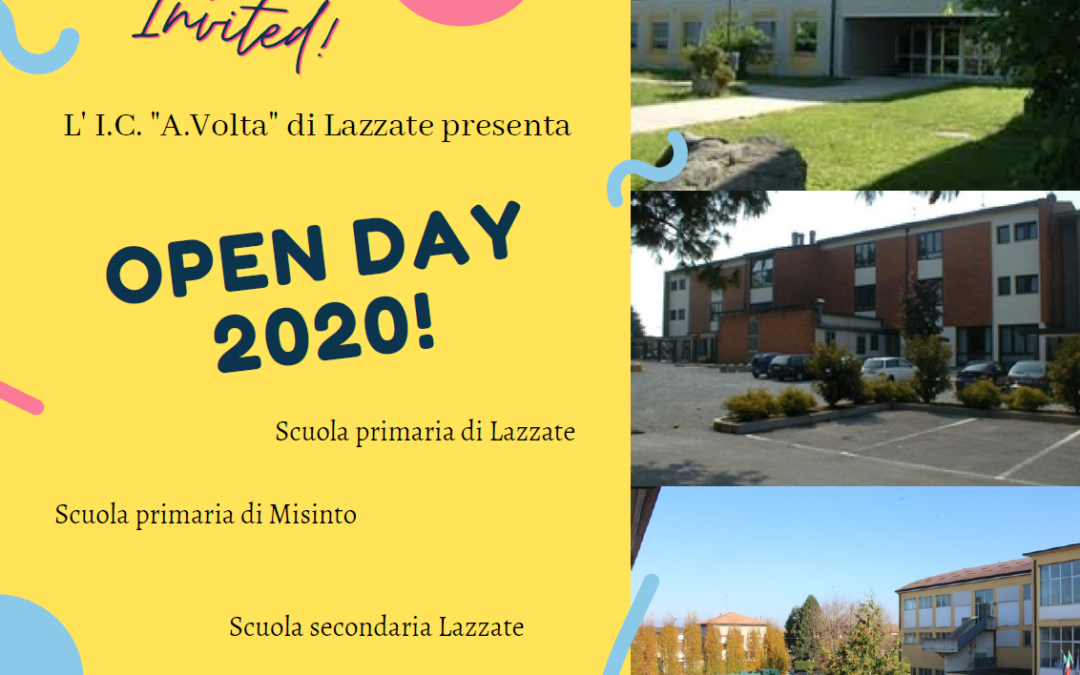 Open Day 2020 Online